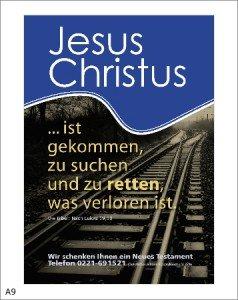 JESUS sucht & rettet das Verlorene
