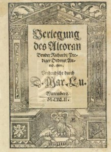 Luther-Koran