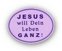 JESUS will ein Leben ganz