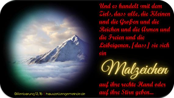 Read more about the article χάραγμα – Das Malzeichen des Tieres